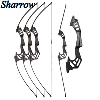 35lbs Shooting Straight pull bow Takedown Bow for Practice Game Suburban Sports Archery Competition Slingshot Hunting