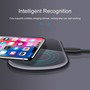 Image 2 - Dual 15W Fast Qi Wireless Charger Pad For Samsung Note10 iPhone 11 Pro Max HUAWEI Mate 30 20 Pro Induction Charging Dock Station