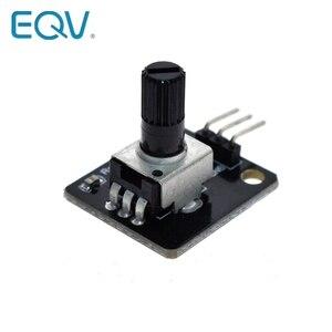 Поворотный потенциометр аналоговый модуль ручки для Raspberry Pi Arduino электронные блоки RV09 роторный кодер