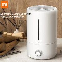 Xiaomi Deerma Ultrasonic Air Humidifier 5L Large Capacity Household Multifunction aromatherapy diffuser humidifier air purifier