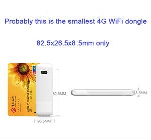 Image 5 - LDW922 3G/4G WiFi роутер мобильный портативный беспроводной LTE USB модем dongle nano SIM карта слот карманный хот спот