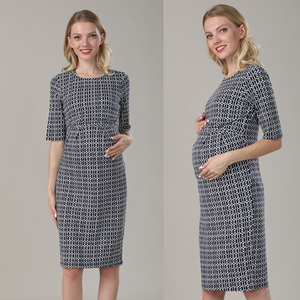 Image 4 - Emotion Moms New Party Maternity Dresses Breastfeeding Clothes Cotton Maternity Clothing for Pregnant Women Summer Dress