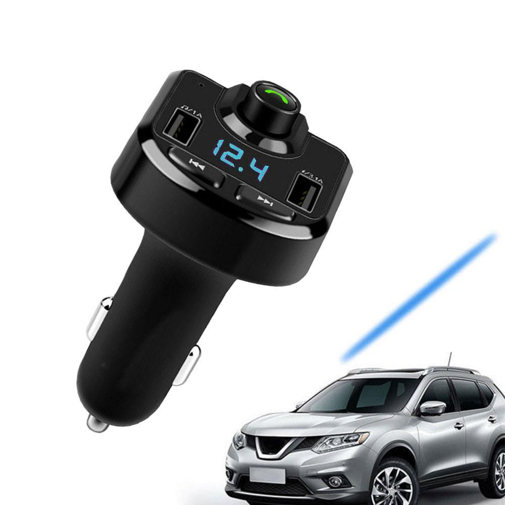 NEW Car Fm Transmitter LCD MP3 Player Wireless Bluetooth Receiving Car Kit 3.1A fast USB Hands Free USB Charger FM Modulator