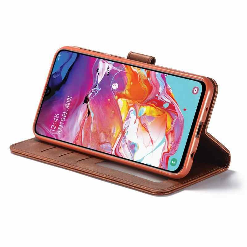 ฝาครอบหนังสำหรับSamsung Galaxy A10 Case 360 สำหรับSamsung M10 10 2019 ฝาครอบโทรศัพท์สูงกระเป๋าสตางค์กระเป๋า
