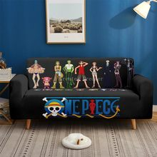 3d Printed One Piece Sofa Cover Cartoon Set Elastic Couch Cover Anime Sofa Covers For Kids Gift Sofa Towel 1/2/3/4-Seater