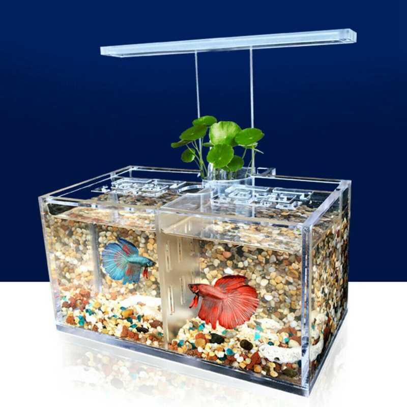 Новый светодиодный аквариумный акриловый мини-светильник для аквариума Betta