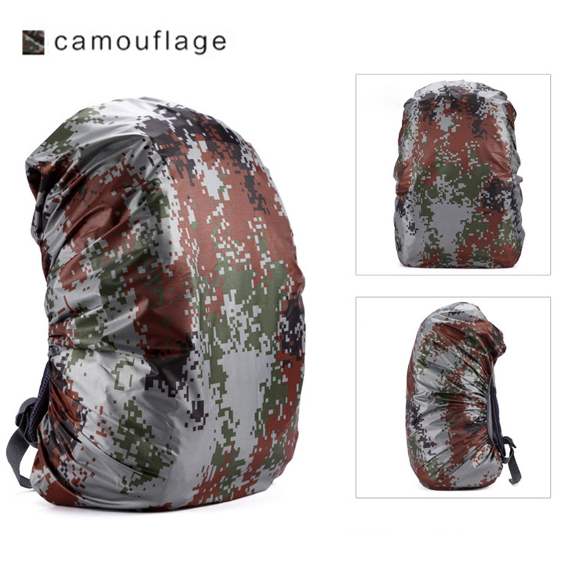 Waterproof Backpack Rain Cover Rucksack Water Resist Cover for Outdoor Hiking Camping Traveling WHShopping