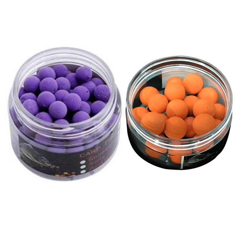 2 Box Smell Pop up Fishing Lures Boilies Floating Carp Bait Soluble in Water