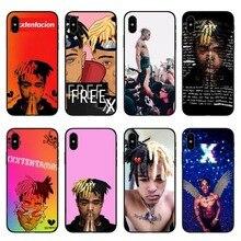 Rap Singer XXXTentacion MC Soft Silicone TPU Cases Cover For iPhone SE 5 5S 6 6s Plus 7 XS Max XR 8 X 10 Phone Bag Case