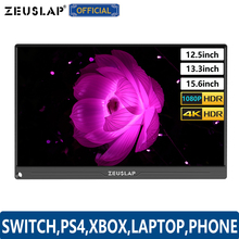 """12.5"""" 13.3"""" 15.6"""" TYPE C USB C HDMI DP 1080P 4K Ultrathin Portable Monitor Screen for Switch,PS4,XBOX,Laptop, Mobile Phone"""