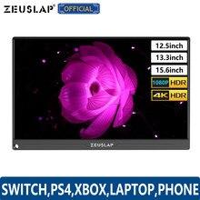 Écran Switch Portable ultramince 12.5 pouces, 13.3 pouces, 15.6 pouces, type-c USB C, HDMI, DP 1080P, pour PS4,XBOX, ordinateur Portable, téléphone Portable