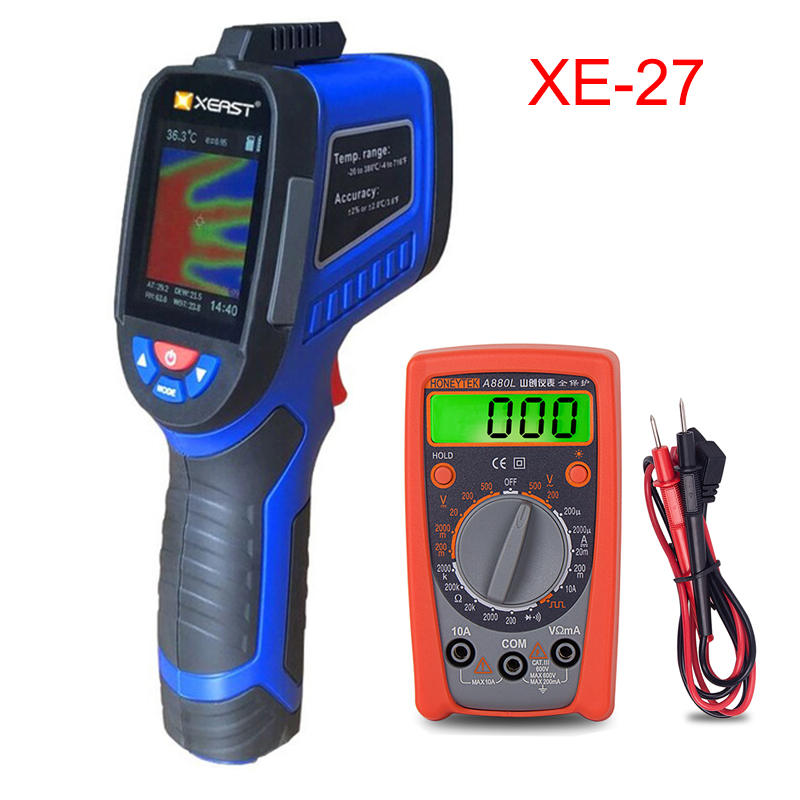 2.4 inch Color Screen Handheld Thermal Imaging Camera Infrared  thermometer XE 26 XE 27 XE 28 Sries economic thermal imagerTemperature  Instruments