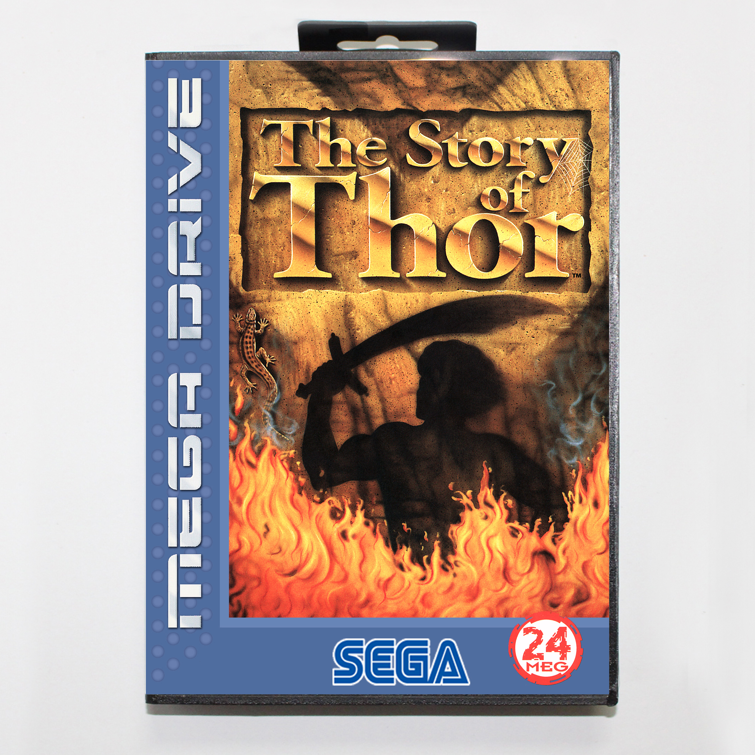 The Story of Thor PAL-E Boxed Version 16bit MD Game Card For Sega MegaDrive Sega Genesis Systems image