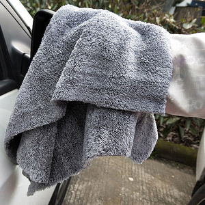 Image 5 - 6 個 350GSM 超厚 Edgeless マイクロファイバータオルカークリーニング自動洗車ワックスがけ乾燥研磨ディテールタオル