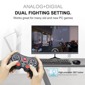 Image 2 - New T3 Bluetooth Wireless Joystick Gamepad bluetooth Game Controller BT3.0 Joystick For Mobile Phone PS3 PC For Android TV Box