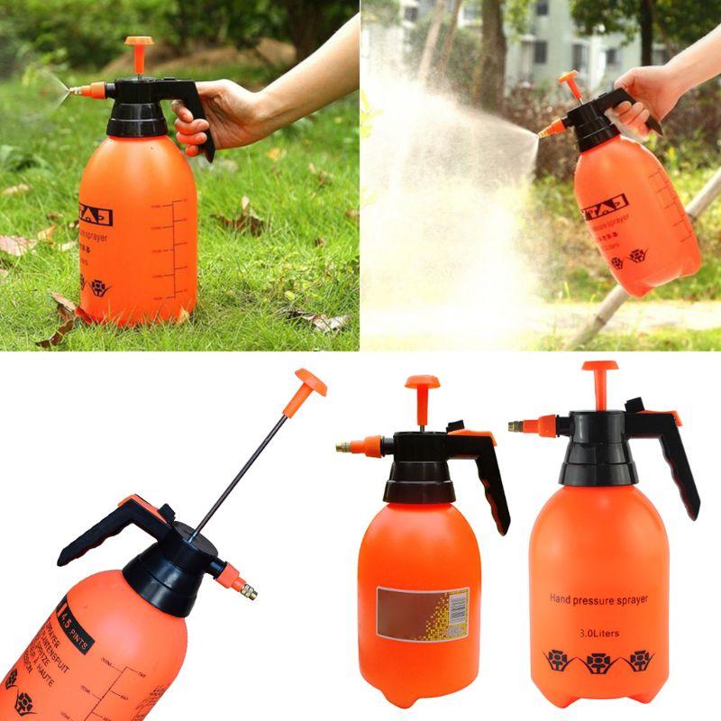 2L/3L Portable Chemical Sprayer Pump Pressure Garden Water Spray Bottle Handheld