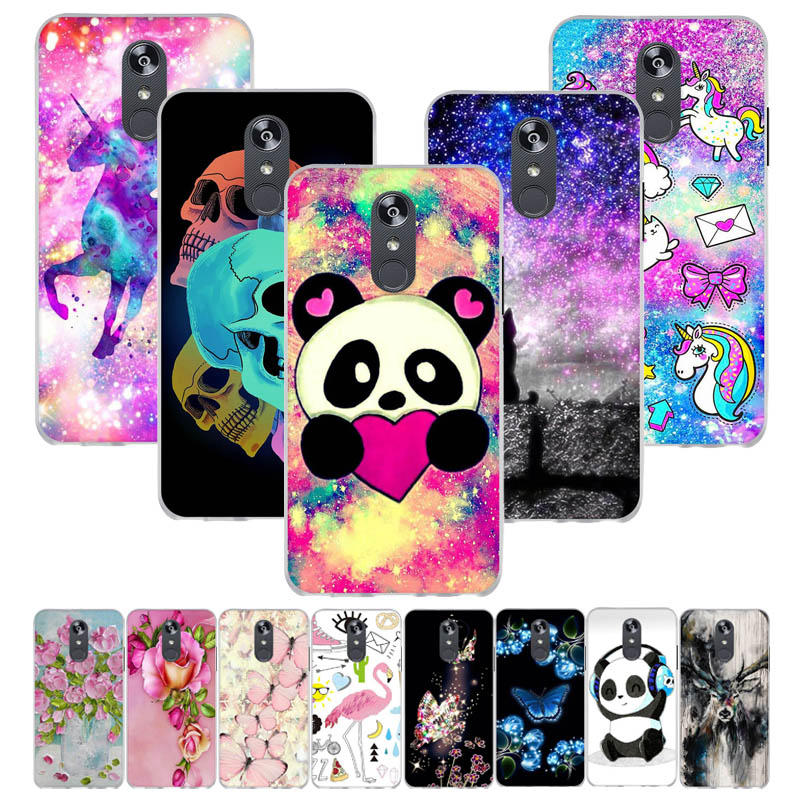 Patterned Silicone Case For LG Q Stylo 4 Case Soft TPU Cartoon Phone Cover For LG Q Stylus Stylo 4 Plus Covers Anti-knock Shell