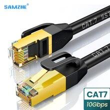 Кабель Cat 7 Ethernet круглый Lan кабель SFTP RJ45 сетевой кабель для совместимого патч-корда для компьютера роутера ноутбука сетевой кабель