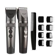 Триммер для волос мужской с ЖК дисплеем профессиональная машинка