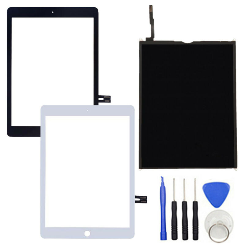 A1893 A1954 For IPad 6th Gen 2018 Ver. LCD DisplayTouch Screen Digitizer Glass