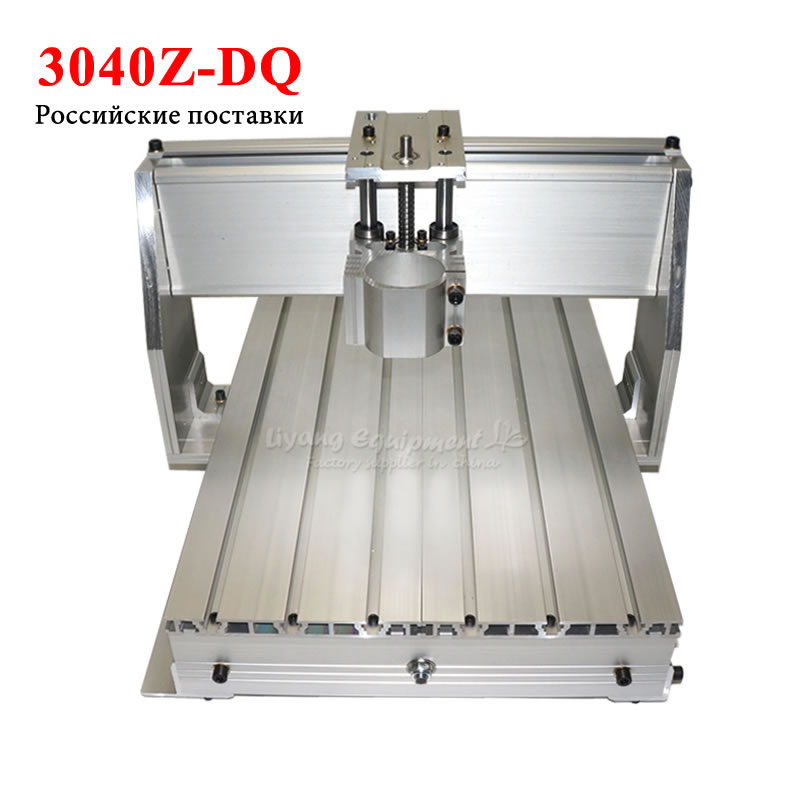 LY Rack Cnc 3040 Z-dq Ball Screw Router Frame For Diy Cnc 3axis Wood Engraving Milling Machine Parts