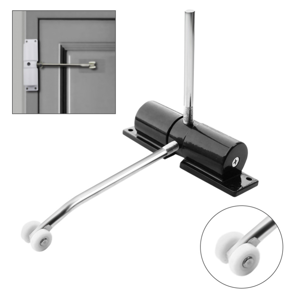 Automatic Strength Spring Door Closer Hinge Fire Rated Door Channel Household