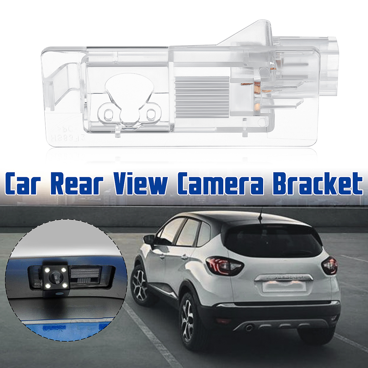 Car Rear View Camera Bracket For Renault Modus Grand Scenic Lodgy Captur Duster Latitude Fluence Symbol Megane 3 Clio 4