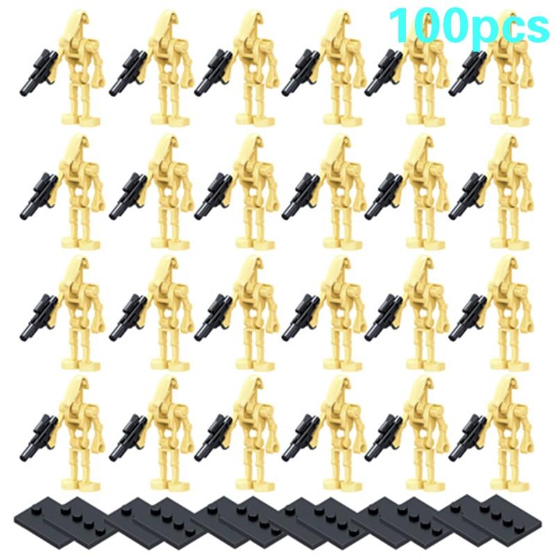 100 Pieces / Lot StarWarss Super Battles Droids Ro gr K2So Figures Starwars Model Set Building Blocks Bricks Toys for Children Blocks    - AliExpress