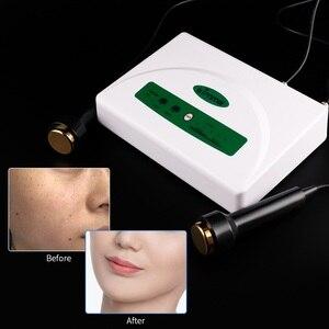 Image 2 - Profesjonalny ultradźwiękowy kobiet pielęgnacja skóry wybielanie usuwanie piegów wysokiej częstotliwości podnoszenia skóry Anti Aging piękno urządzenie do pielęgnacji twarzy