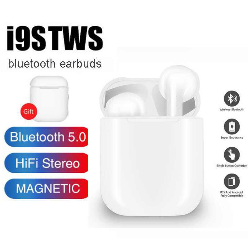 I9s tws Близнецы наушники мини беспроводные Bluetooth наушники гарнитуры стерео наушники беспроводные i10 max для всех мобильных телефонов idos Android