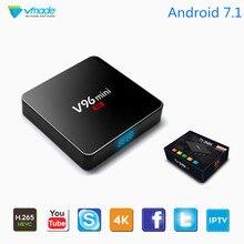Smart Mini IPTV Box Android 7.1 Allwinner H3 Quad Core H.265 Google TV Media Player Support 2+16GB Netflix Youtube Set-Top Box