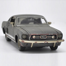 цена на Maisto 1/24 1:24 1967 Ford Mustang GT Old Version Sport Racing Car Vehicle Diecast Display Model Toy For Kids Boys Girls