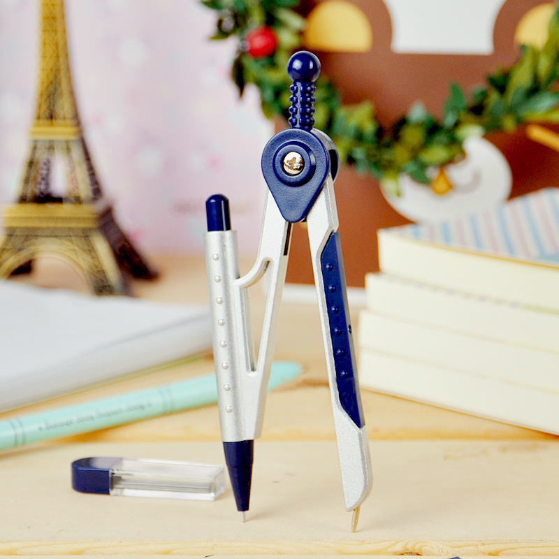 8616 Student Drawing Compass Design Office Student Compass With Automatic Pencil Set Of Drafting Rules Drafting Tools Stationery