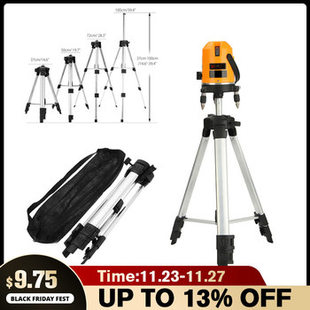 Adjustable Metal Aluminum Tripod Stand Holder for Laser Level Alloy Stand Tripod Measurement Tool Building Construction Tools precision aluminum alloy level ruler with level bubble mm scale rule for building decoration measurement tool