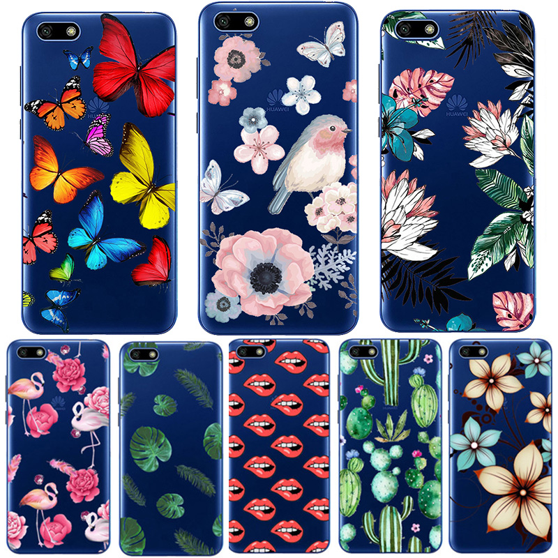 Soft Silicone Case For <font><b>Huawei</b></font> Y5 <font><b>2018</b></font> Case Cover Paint TPU Phone Case for <font><b>Huawei</b></font> <font><b>Y</b></font> <font><b>5</b></font> Y5 Lite <font><b>2018</b></font> DRA-LX5 DRA-LX2 <font><b>Fundas</b></font> coque image
