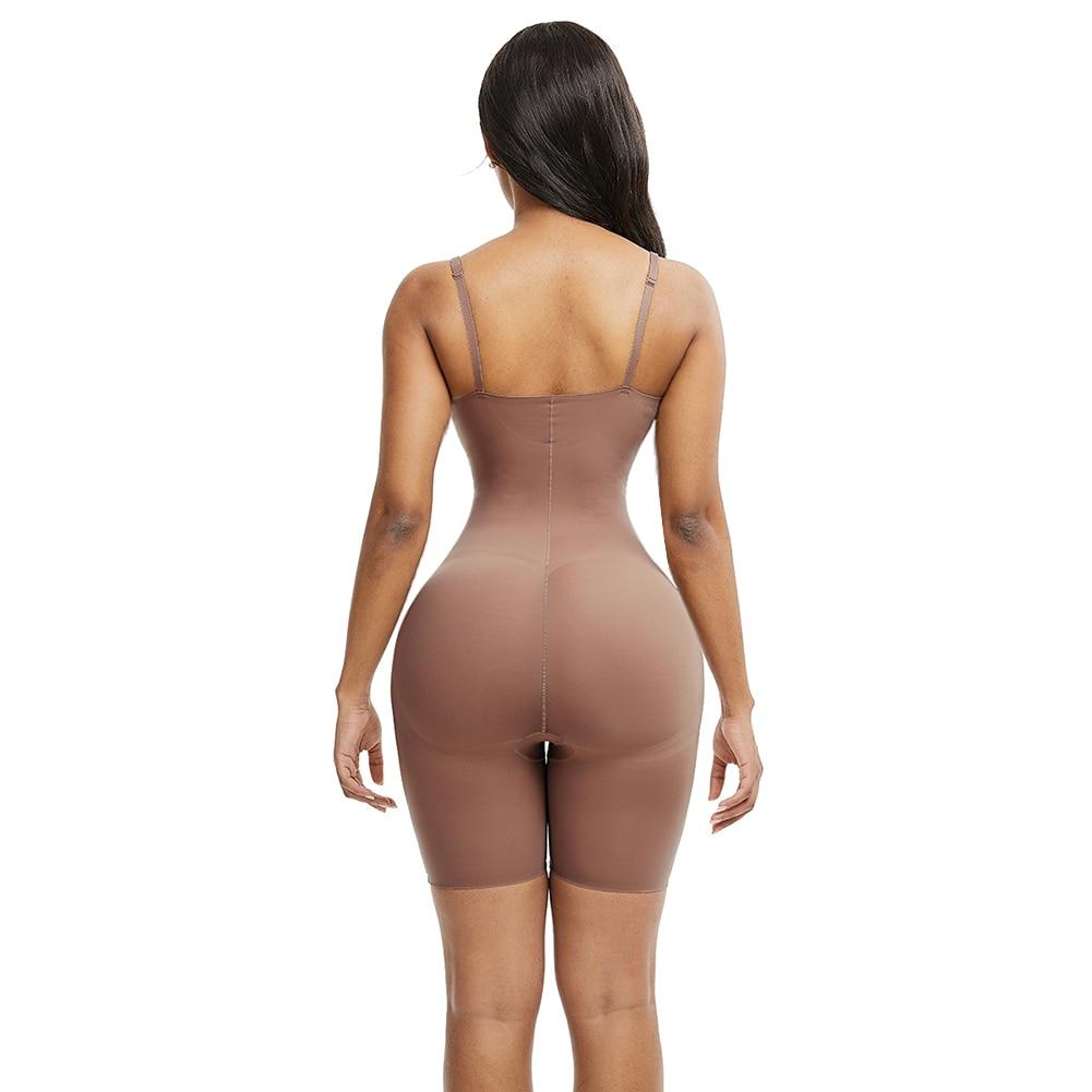 HEXIN Seamless Women Shapers High Waist Slimming Tummy Control Pantie Briefs Magic Full Body Shapewear Lady Corset Underwear