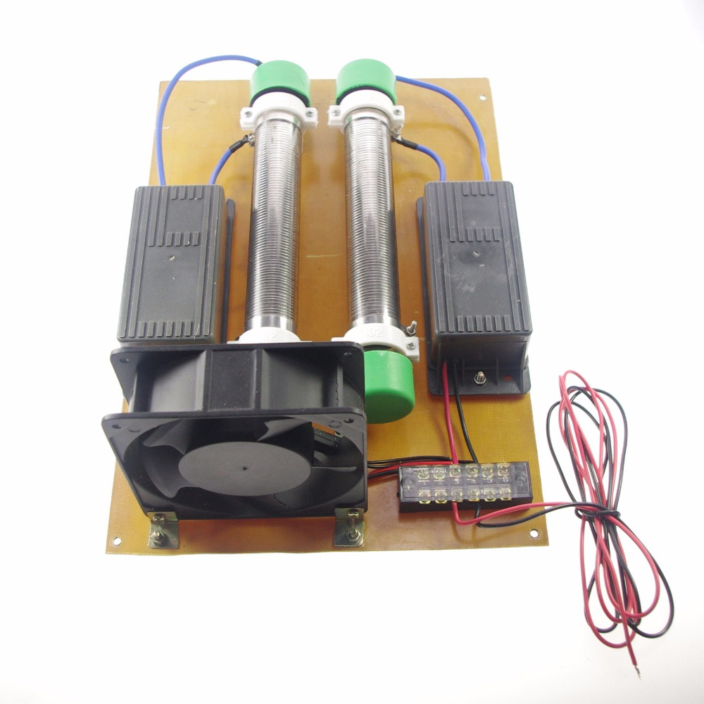 15g/h 220v 22KHZ Ozone Generator Machine High Frequency Power+Tube+Fan+Pump Air Cleaner Ozon Generator Air Purifier