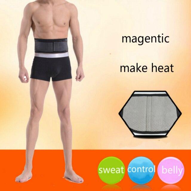 Men Body Shaper Belly In Girdle Sweat Sauna Waist Cinchers Magnet Belt 1
