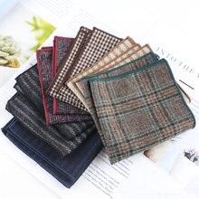 6 шт Шерсть Для мужчин костюм карманное полотенце для сундуков