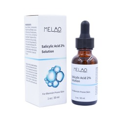 30ml Salicylic Acid 2% Solution Moisturizing Face Serum Hydrating Shrink Pore Exfoliating Prone Skin Hydrating Face Essence