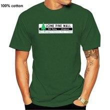 Camiseta de manga corta para hombres y niños, camisa de películas del futuro inspirada en la espalda y el amor, de Pines gemelos, Lone