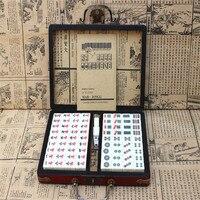 2019Home Antique Mahjong Box High Quality Gift Mahjong Travel Entertainment Leisure Essentials