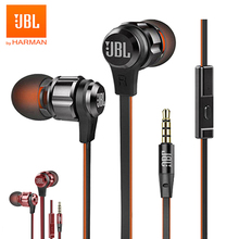 Original JBL T180A Stereo In ear Go Earphones Remote With Microphone Sport Music Pure Bass Sound Headset For Android iPhone