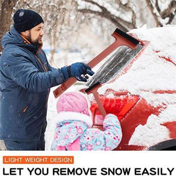 Łopata do śniegu usuwanie śniegu narzędzie okno urządzenia do oczyszczania naprawa samochodów części skrobaczka regulowana teleskopowa łopata do śniegu pióro wycieraczki tanie i dobre opinie CN (pochodzenie)