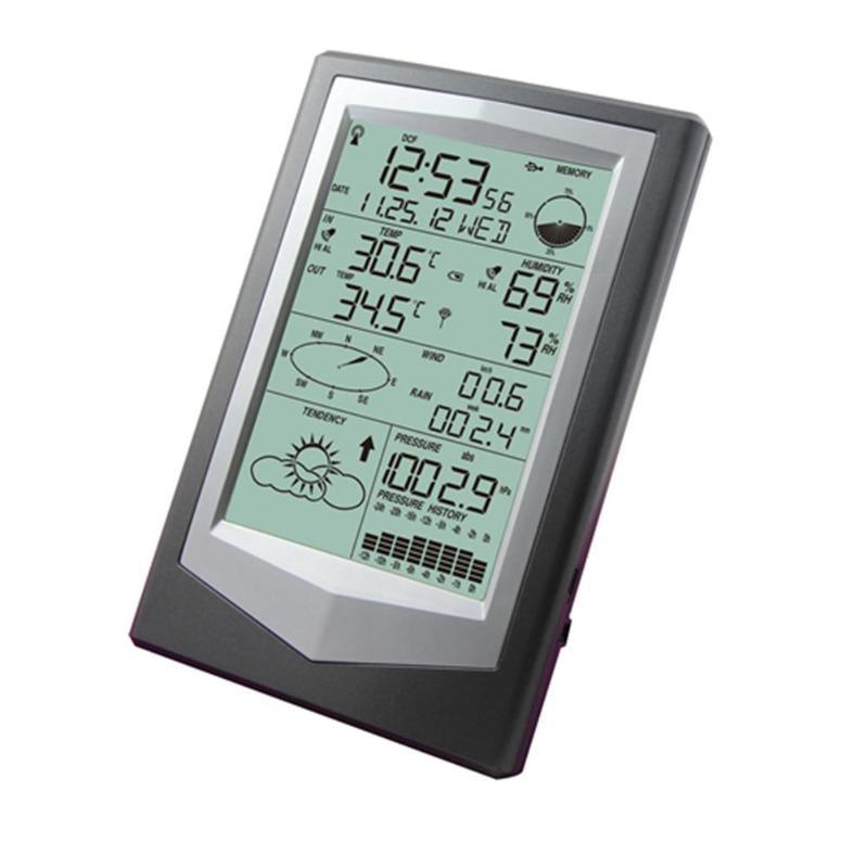 Station météo numérique sans fil capteur de prévision extérieure hygromètre thermomètre haute et basse température paramètres d'alarme