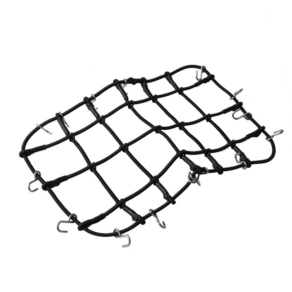 1/10 Scale RC Rock Crawler Accessory Luggage Roof Rack Net RED For D90 D110 Traxxas TRX-4 Trx4 Rc Car