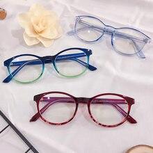 College retro glasses frame 2019 new tr frame propionic acid leg plug in eyeglass frame versatile glasses 9117 flat lens