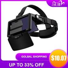 Ar óculos 3d vr fones de ouvido realidade virtual 3d óculos papelão vr fones de ouvido para 4.7-6.3 polegada telefone para fiit vr AR-X capacete