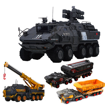 NFSTRIKE 1:120/1:50/1:144 CN171-11 Engineering Truck Model Construction Vehicle Alloy Transport Car birthdaty gifts 2019