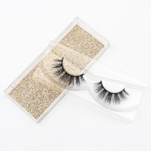 A Pair of Natural Mink False Eyelashes Dramatic Thick False Eyelashes Makeup Tools Beauty Extension Kit Wholesale